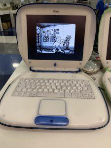 Очень округлые формы ноутбука Apple iBook