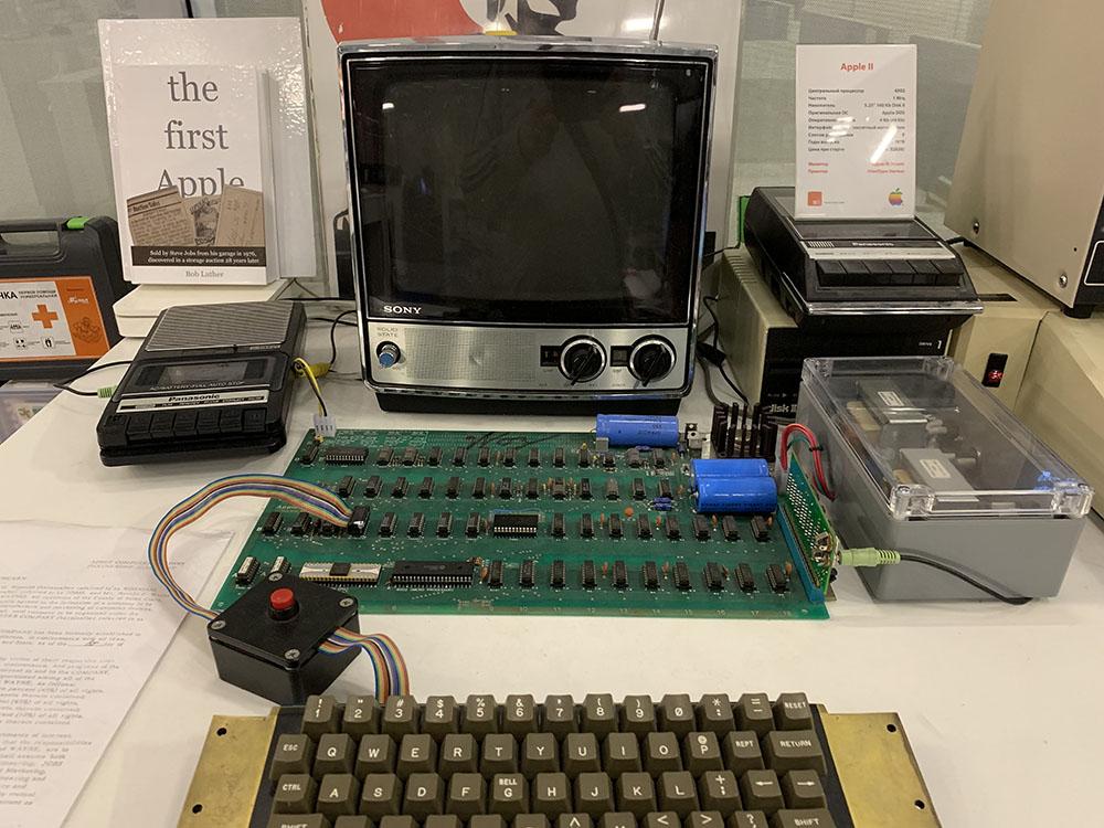 Первые ЭВМ от Sony, Apple и IBM