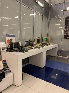 Одни из первых экспонатов музея Apple