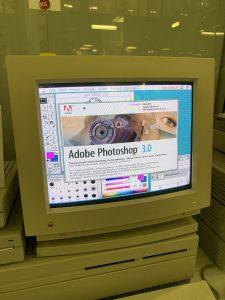 Попробовали попользоваться графическим редактором Adobe Photoshop 3.0