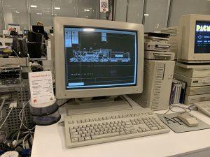 Обратите внимание на редактор графический на первых компьютерах Apple